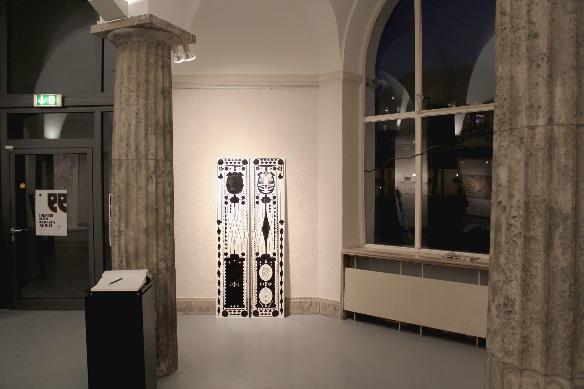 Art and design by Jonas Horbach Tut Elk Amun