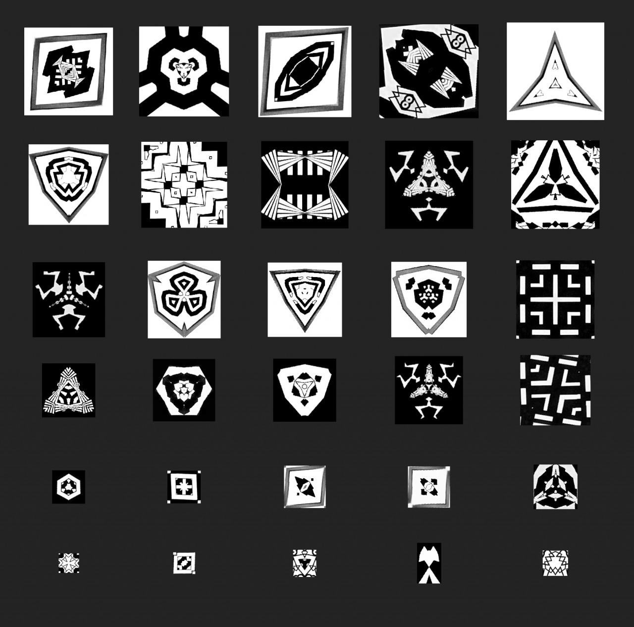 Art and design by Jonas Horbach Symbols