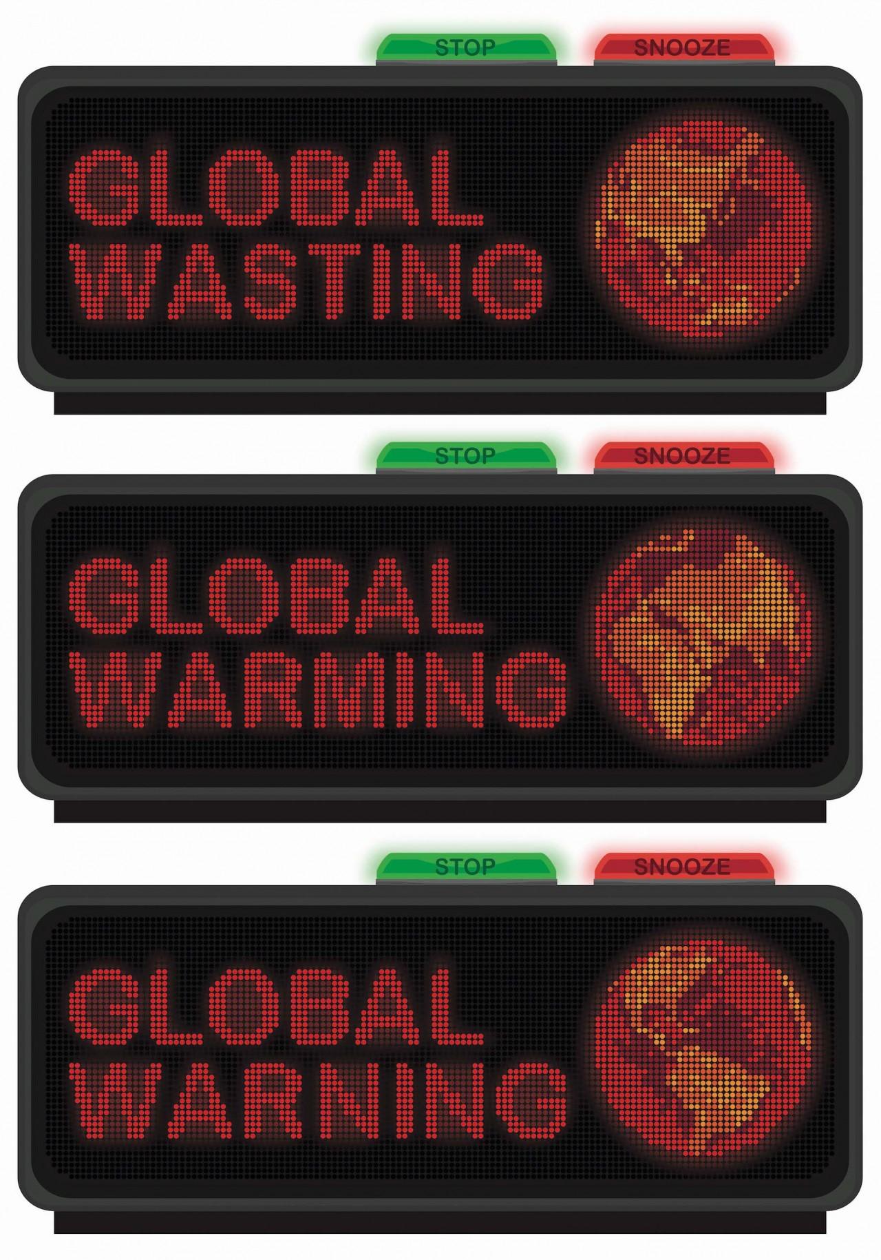 Art and design by Jonas Horbach Global Warning