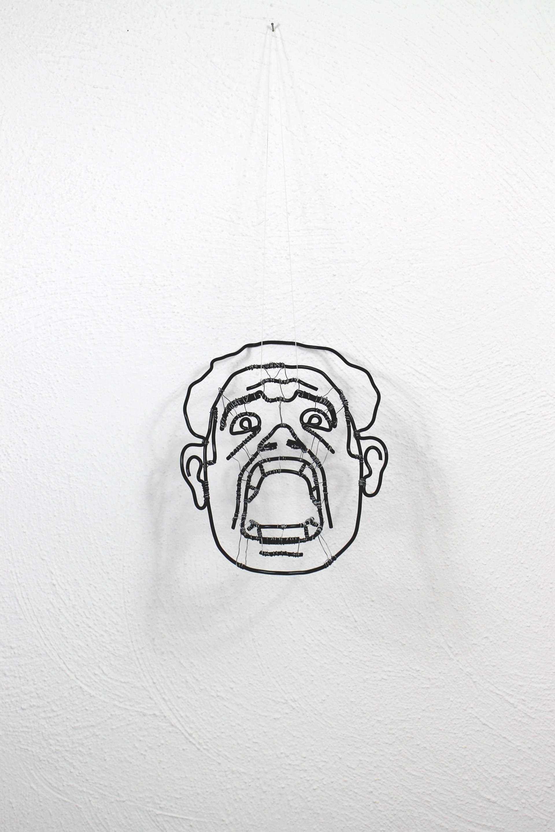 Art and design by Jonas Horbach Wire Faces