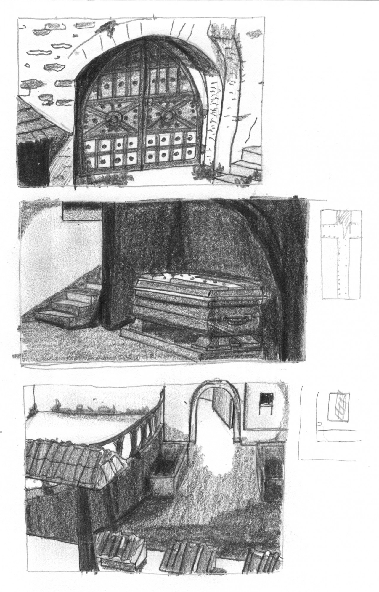 Art and design by Jonas Horbach Nosferatu Sketches