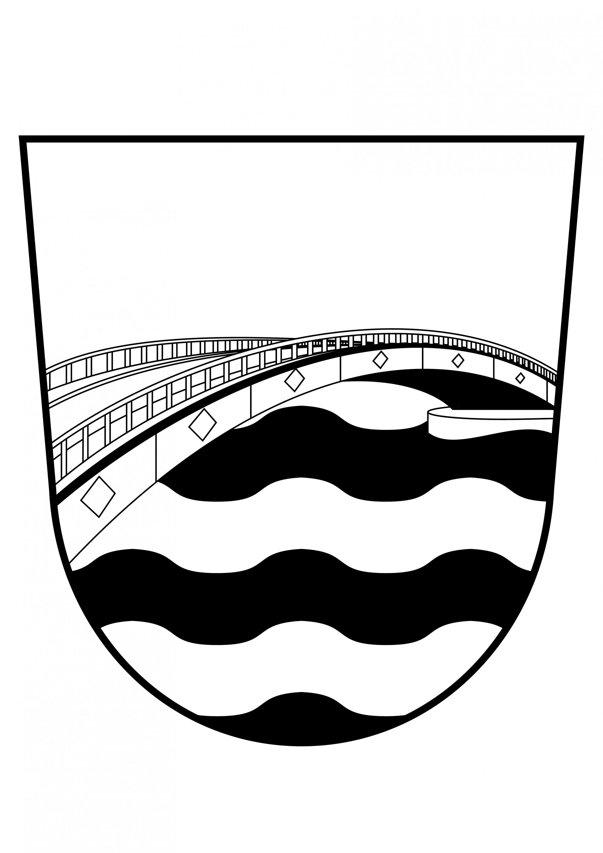 Art and design by Jonas Horbach Coat of Arms of Offenbach